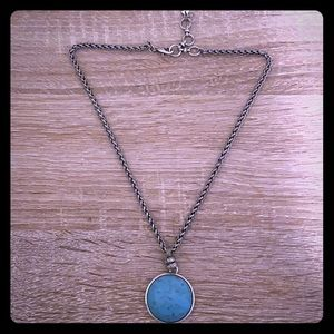 Lucky Brand 🍀 silver necklace